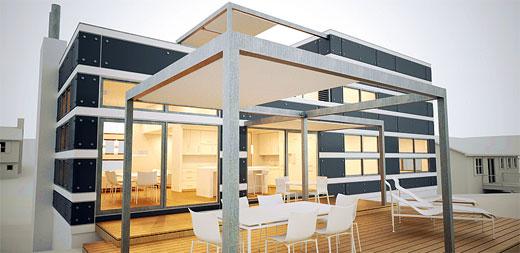 uteplats   hofv2 - Arkitektur 2016