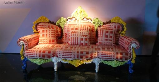 soffa regnbågen