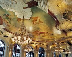 Ceiling of Cafe Opera Nightclub Stockholm