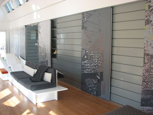 Hofv2 arkitektur 2016 facades interior made with metal passion sida 4 for Metal panels for interior walls